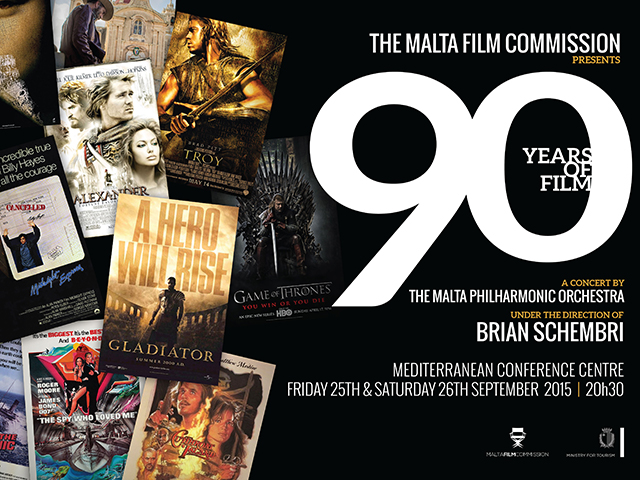 Malta Film Commission 90th Anniversary