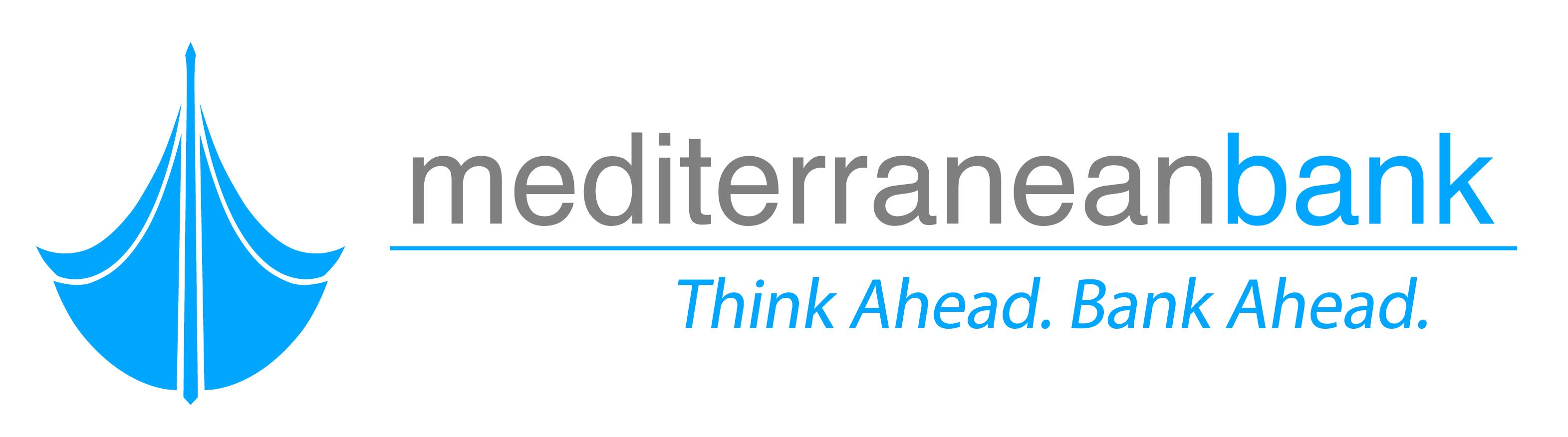 Mediterrranean bank VER logo FLAT
