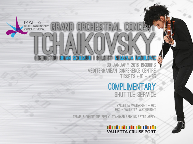 MPO Grand Orchestral Concert - Tchaikovsky