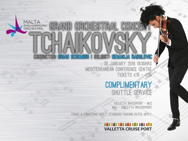 MPO Grand Orchestral Concert - Tchaikovsky