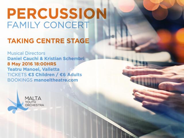MYO Percussion Family Concert
