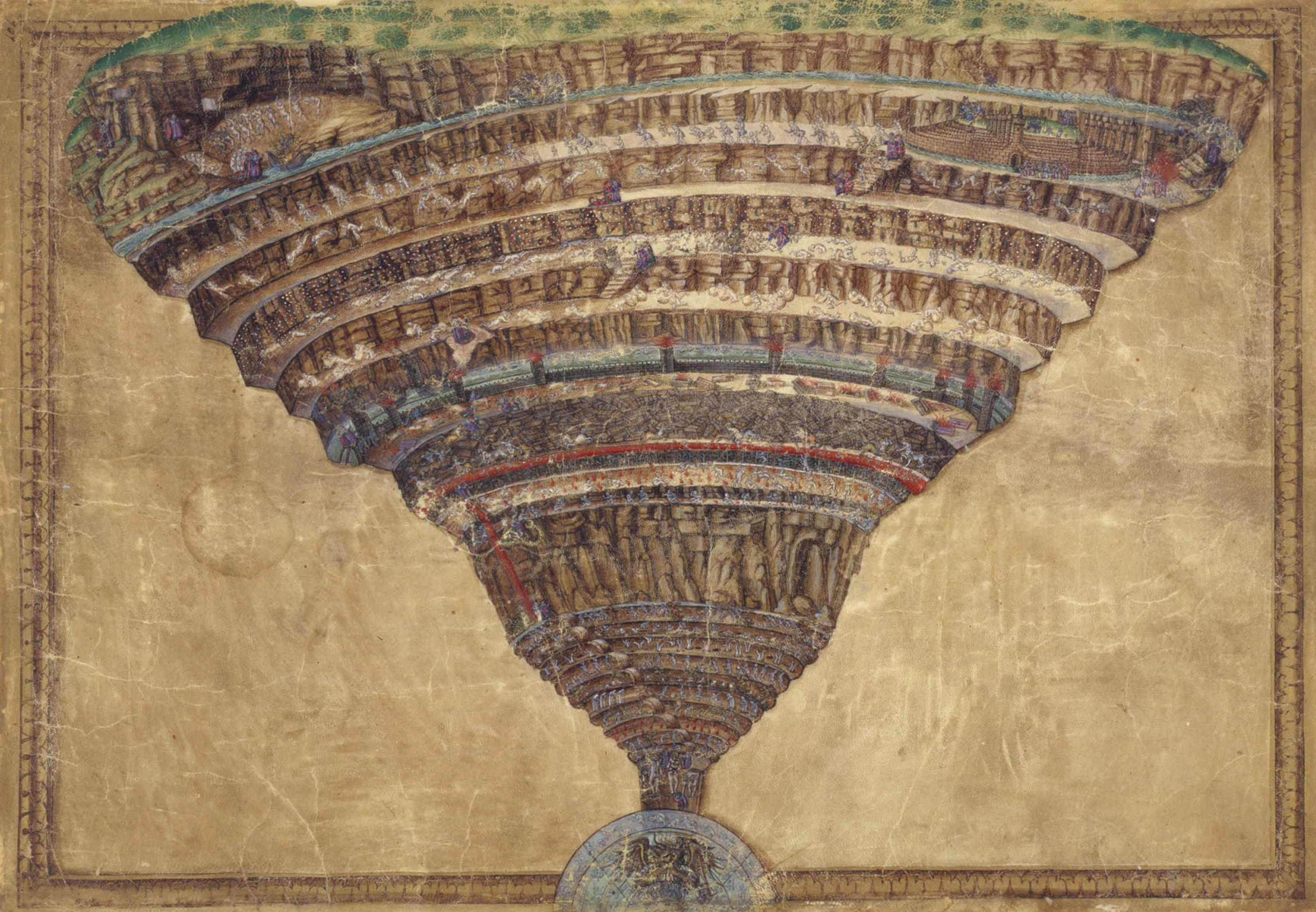 La Divina Commedia - Inferno - Purgatorio - Paradiso