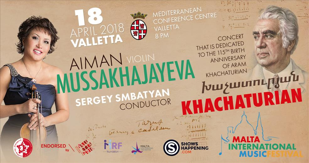 KHACHATURIAN GALA - Malta International Music Festival