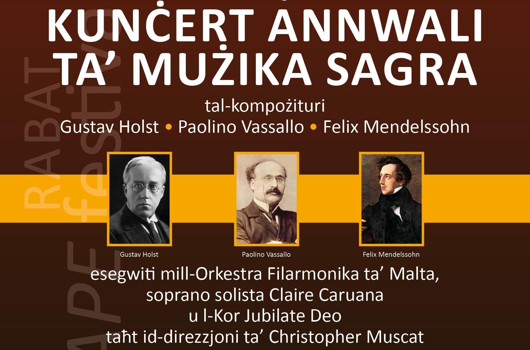 Agape Festival: Sacred Music Concert