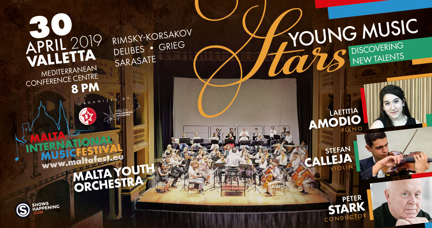 Young Classical Stars with Malta Youth Orchestra