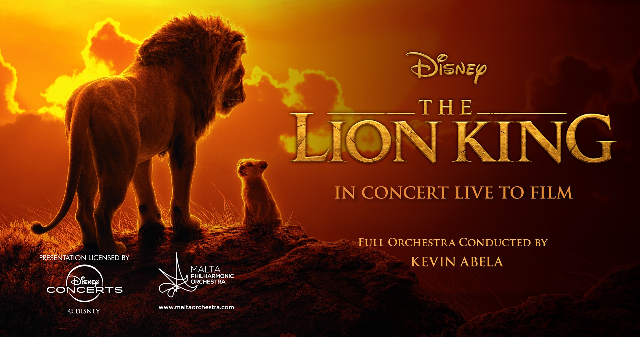 Disney: The Lion King In Concert Live to Film