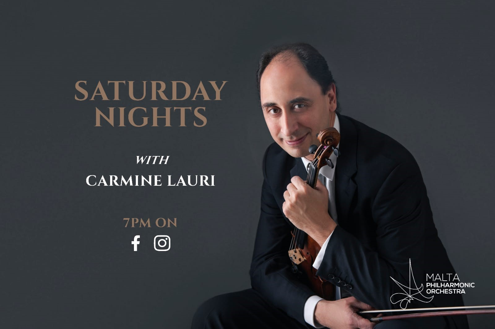 Saturday Nights with Carmine Lauri